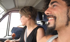 on the road 14
